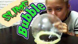 надуваємо лизуни (слайми) | Надуваем лизуны (слаймы) | Slime Bubble Blowing | Babasiky