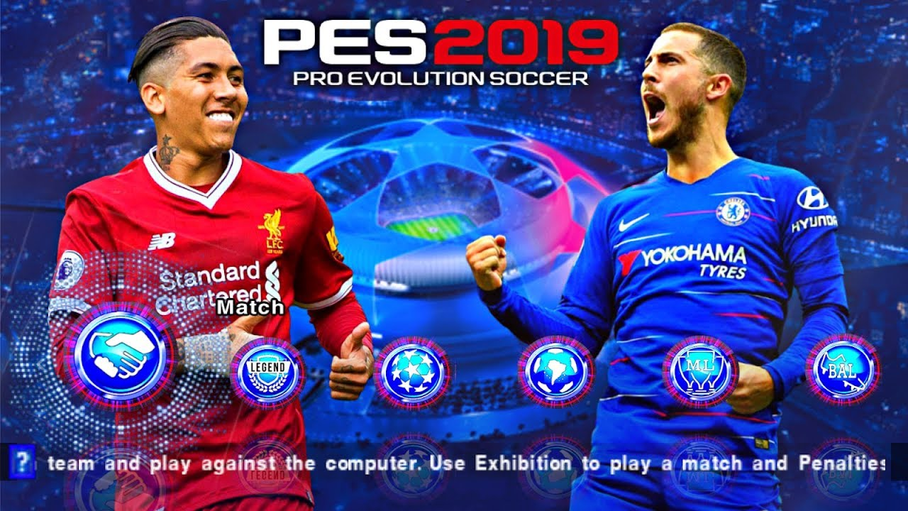 PES 2019 Lite 300 MB MOD PS4 Android // تحميل لعبة pes 19 للأندرويد ppsspp  camera ps4 +camera normal