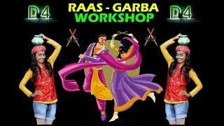 Dholida   LOVEYATRI   GARBA DANCE Workshop By D4 Dance Academy