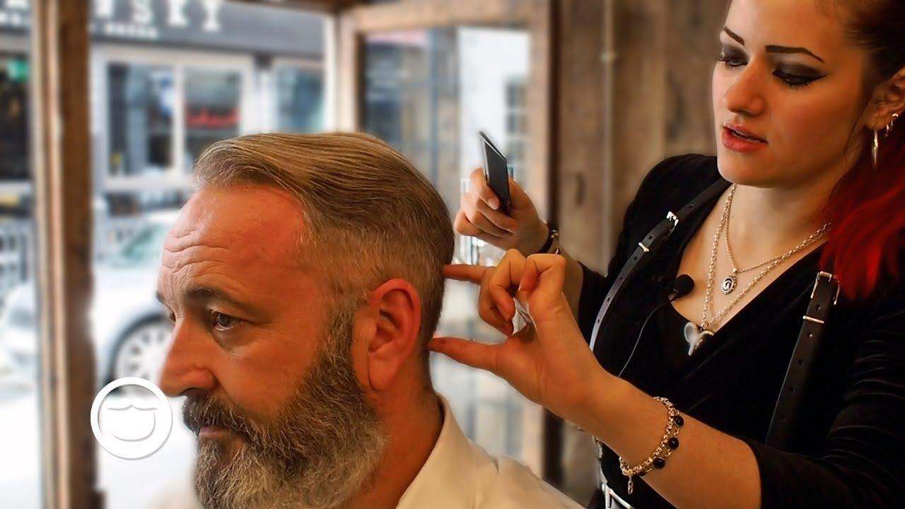Asmr Old School Haircut And Beard Trim Cut And Grind Youtube