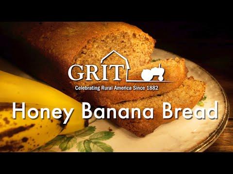 Honey banana bread recipe youtube honey banana bread recipe forumfinder Images