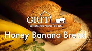 Honey Banana Bread Recipe