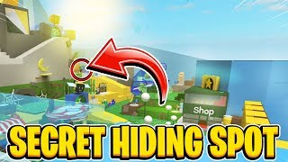 SECRET Hiding Spot In Hide And Seek In Roblox Bee Swarm Simulator