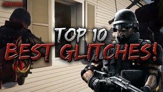 INVINCIBILITY, INVISIBILITY! Top 10 GLITCHES! Rainbow Six Siege!