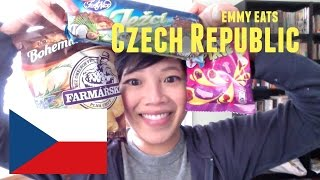 Emmy Eats the Czech Republic part 2 - tasting more Czech treats