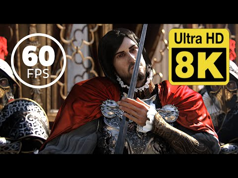 Assassin's Creed Brotherhood: E3 Premiere | Trailer 8k 60 FPS (Remastered with Neural Network AI) |