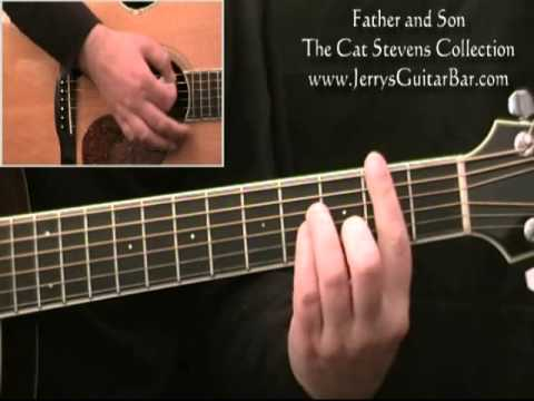 How To Play Cat Stevens Father And Son Guitar Lesson Youtube