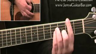 How To Play Cat Stevens Father And Son - Guitar Lesson