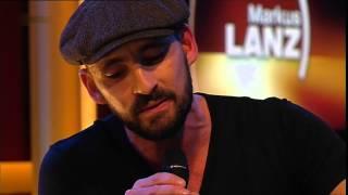 """Musiker """"Gentleman"""" Tilmann Otto singt Memories am 14.11.2013 bei Markus Lanz"""