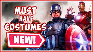 Marvel's Avengers Top Costumes Outside All the Confirmed Skins!