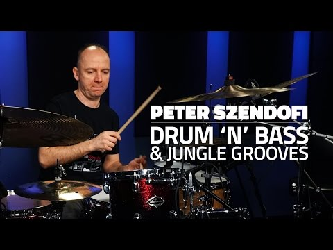 Peter Szendofi: Drum 'n' Bass & Jungle Grooves - FULL DRUM LESSON (Drumeo)