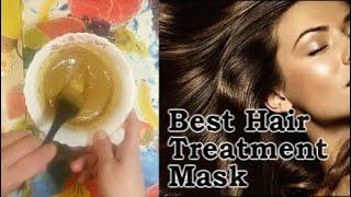 Best Hair Treatment Mask DIY Восстанавливающая маска для волос