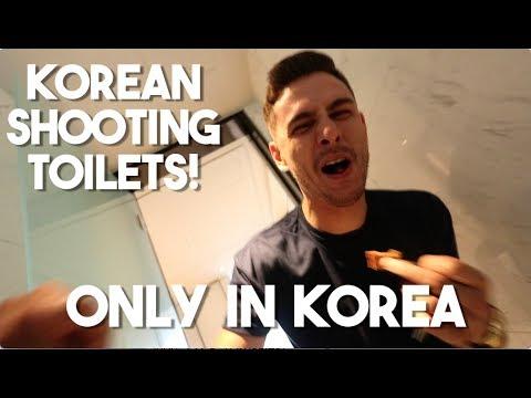 INSANE KOREAN TOILETS! (One Night in Seoul, Korea)