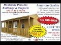 Huntsville Portable Buildings (North Lot) Tour
