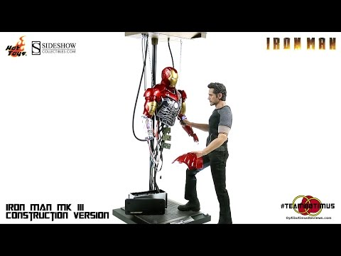 Video Review of the Hot Toys Iron Man Mark III Construction Version