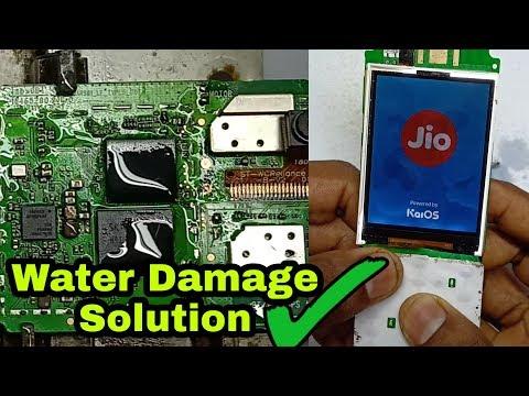 LYF Jio Phone Water Damage dead Solution