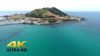 제주도 4k 드론 영상   jeju island korea 4k aerial footage