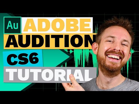 Adobe Audition CS6 Tutorial