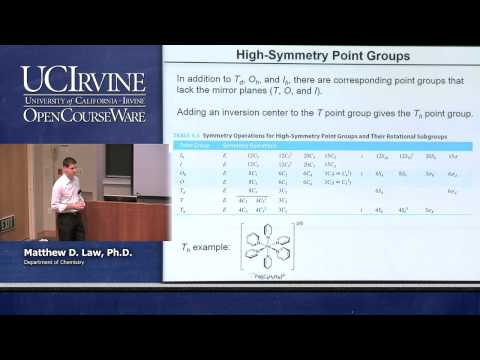 Chemistry 107. Inorganic Chemistry. Lecture 02