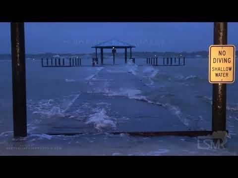 09-15-2020 Gulf Shores, AL - Hurricane Sally Storm Surge Heavy Rain High Wind - Early Damage & Impac