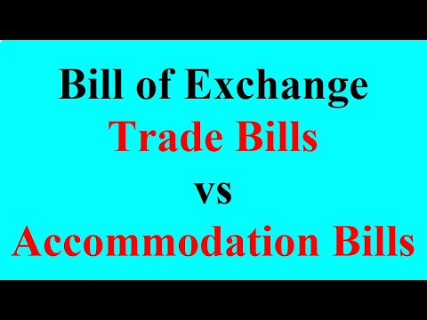 15 Trade Bills vs Accommodation Bills