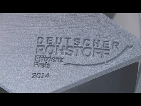 Deutscher Rohstoffeffizienz-Preis 2014 - Preisverleihung