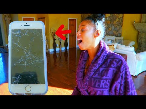 DESTROYED MY FIANCE iPhone 8 PRANK (EPIC...