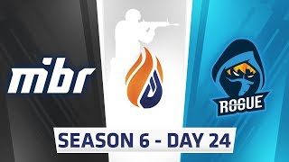 ECS Season 6 Day 24 MIBR vs Rogue - Inferno
