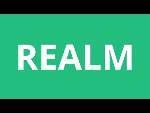 How To Pronounce Realm - Pronunciation Academy