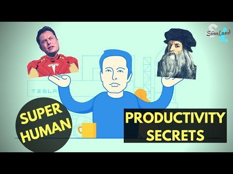 Elon Musk Superhuman Productivity Tactics