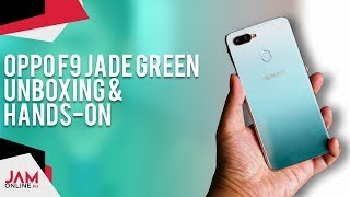 OPPO F9 Jade Green Unboxing: The Best F9 Colorway