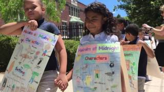Novel Parade at Indian Orchard Elementary features entire school