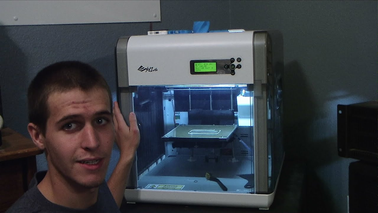DIY 3D Printing: Da Vinci 1 0 3d printer by XYZ Printing