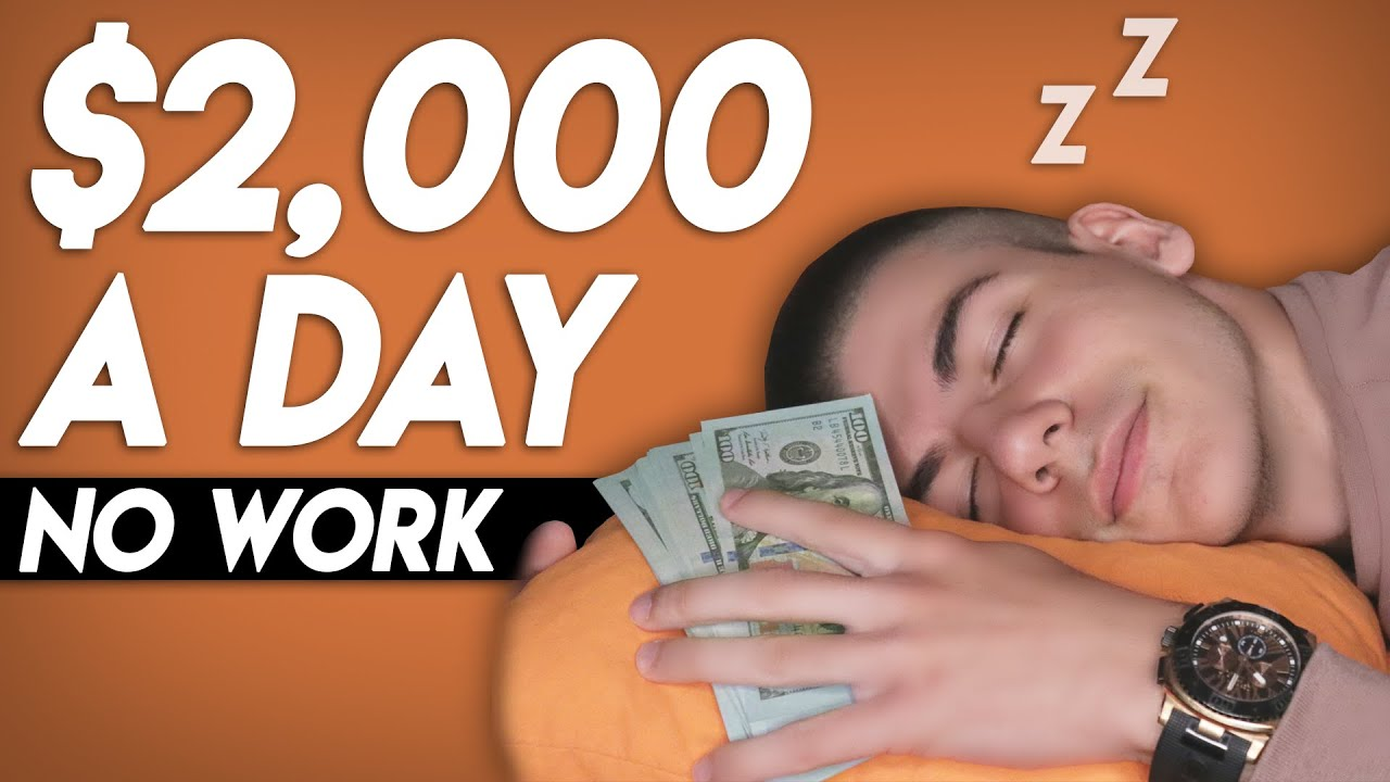 Make $2,000 A Day While You Sleep (WORLDWIDE | Make Money Online)
