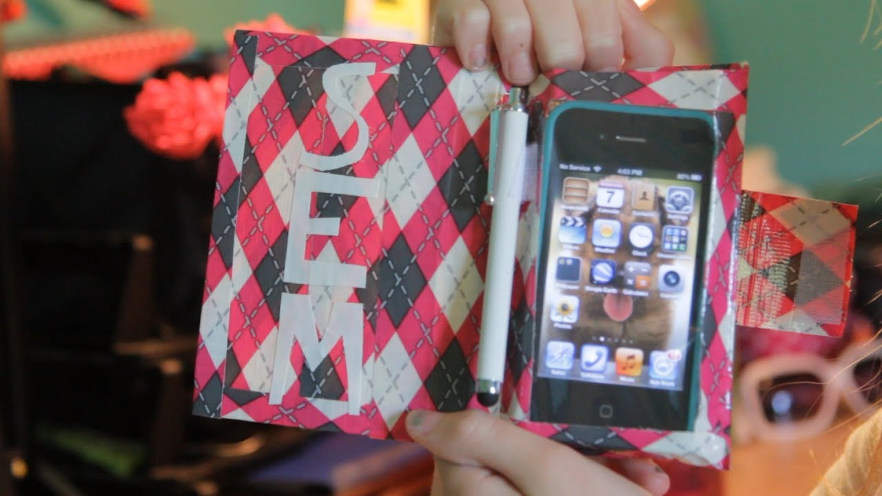 DIY Tutorial - Make an Inexpensive Duct Tape Case for Your iPhone ...