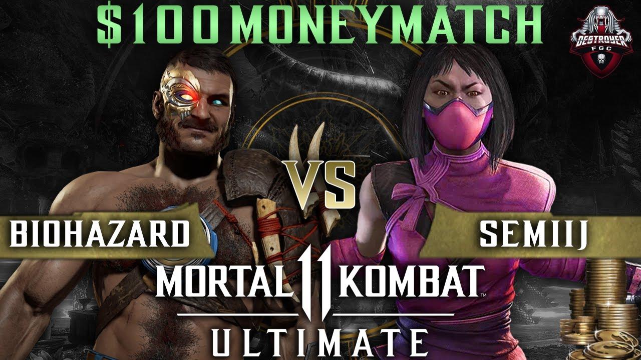 SEMIIJ vs BIOHAZARD FT10 $100 MM - MK11 Ultimate