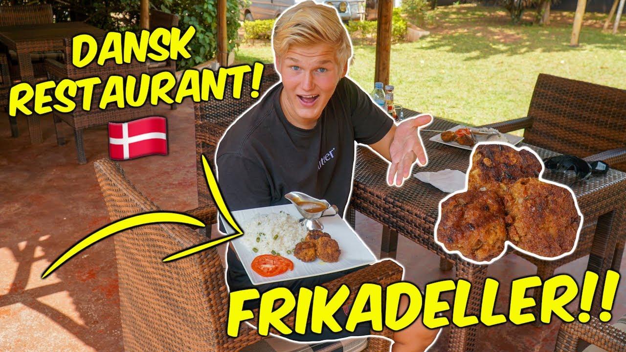Spiser på DANSK RESTAURANT I AFRIKA!
