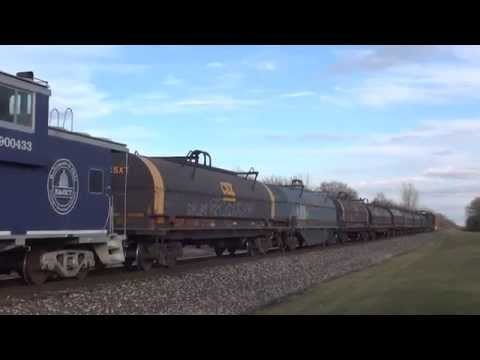 3 Great Trains on the Porter Branch B&OCT 900433 NS 1071 CNJ & NS 8105 Interstate