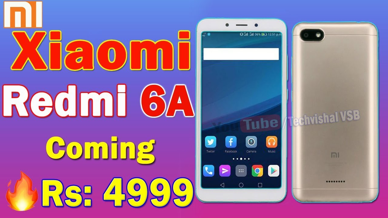 Xiaomi Redmi 6a Launch Date In India Camera Specifications Price 2 16gb Gold All Details