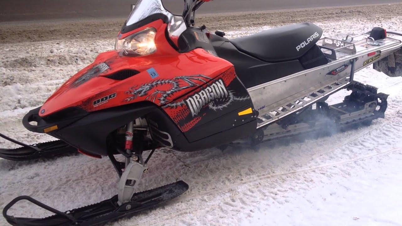 2008 Polaris Dragon 800 Rmk