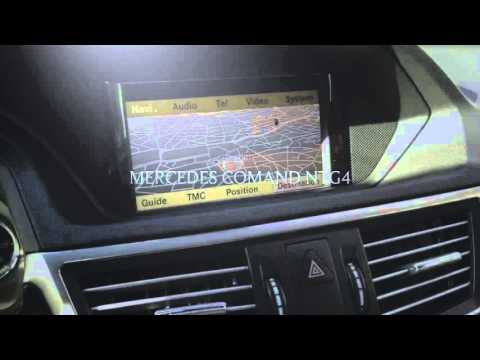 Mercedes E350 update navigation 2016