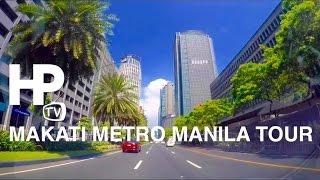 2016 Makati Metro Manila Driving Tour Overview By HourPhilippines.com