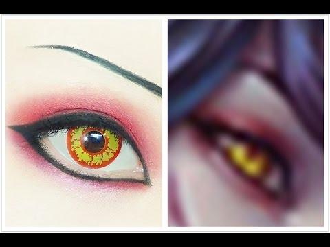 Yellow Eye Lenses Ahri | Tutorial : Anim...