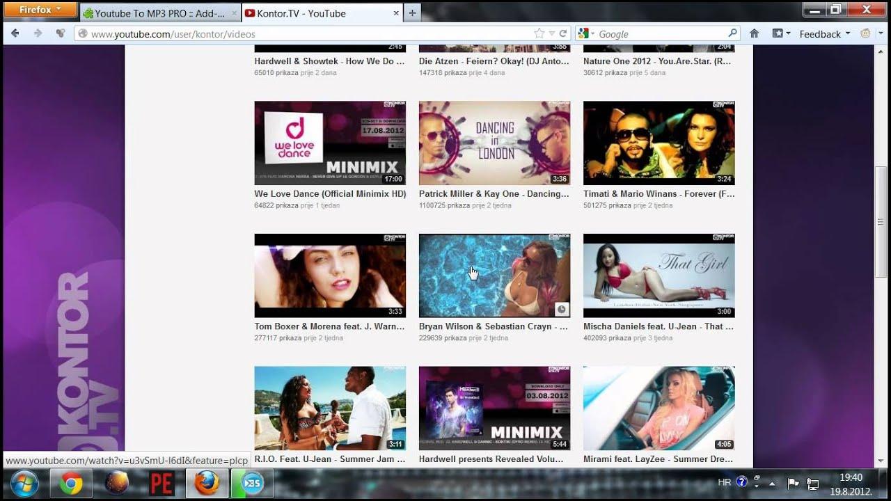 Youtube VideoTo MP3 High Quality Sound 100 % Work