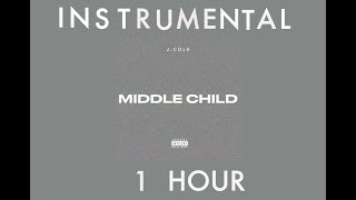 Middle Child J Cole Instrumental 1 Hour