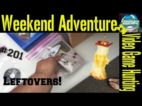 Weekend Adventure in Video Game Hunting 201 Leftovers!