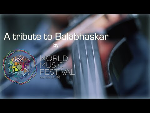 A Tribute to Balabhaskar   Feat. Vivek K C