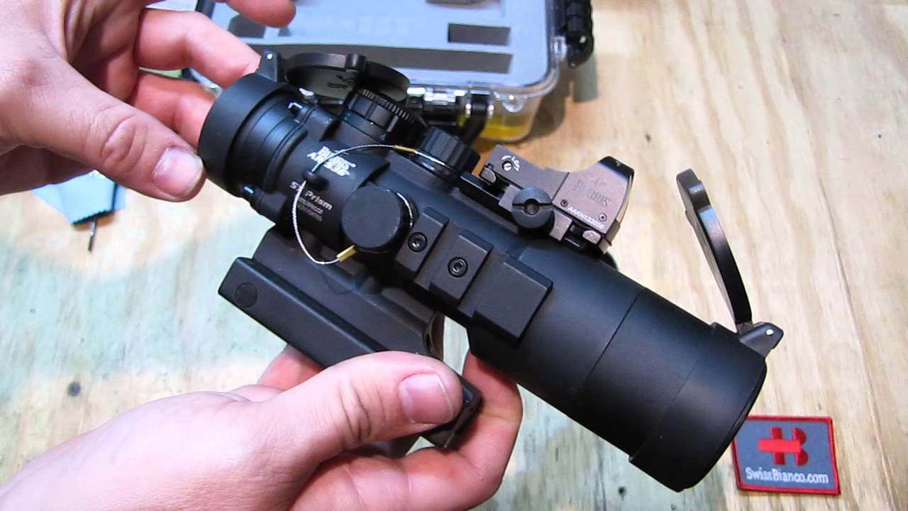 Burris Prism Scope And Fastfire Red Dot Ar536 Tactical Kit