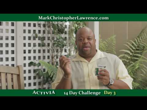 Mark Christopher Lawrence Takes the ACTIVIA 14 Day Challenge