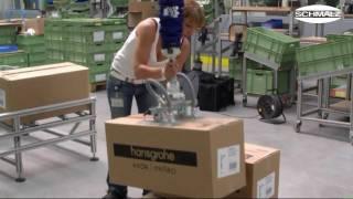 Vacuum Tube Lifter - Handling of cardboard boxes | Schmalz